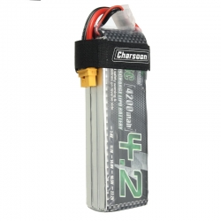 Charsoon 11.1V 4200mAh 35C 3S Lipo Battery XT60 Plug With Strap