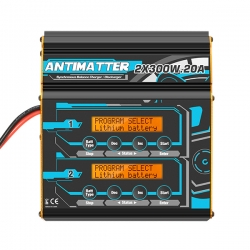Charsoon Antimatter 2x300W 20A Lipo Battery Balance Charger Discharger